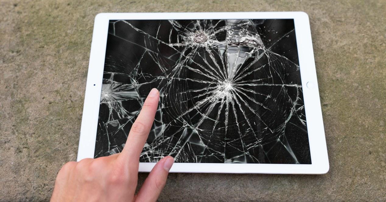 Pantalla rota iPad Air precio reparación