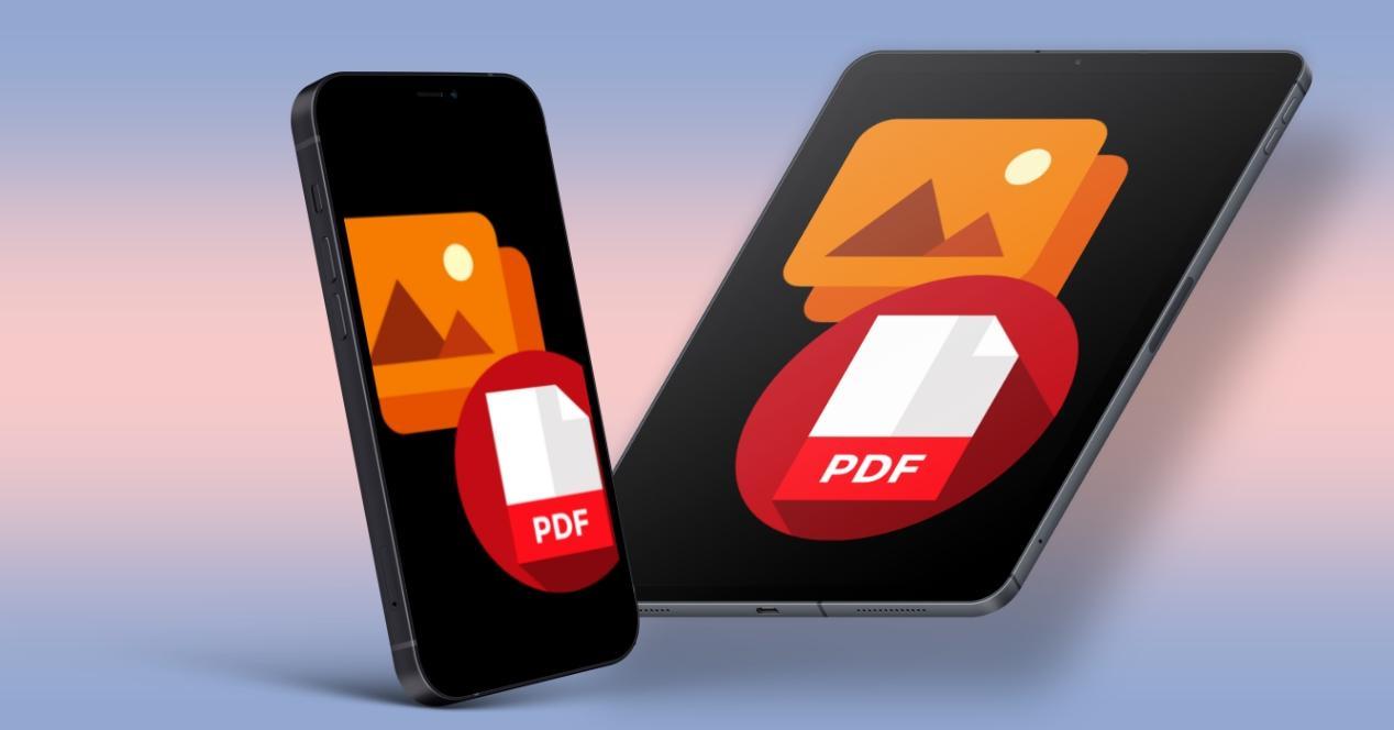 Pasar fotos a PDF iPhone iPad