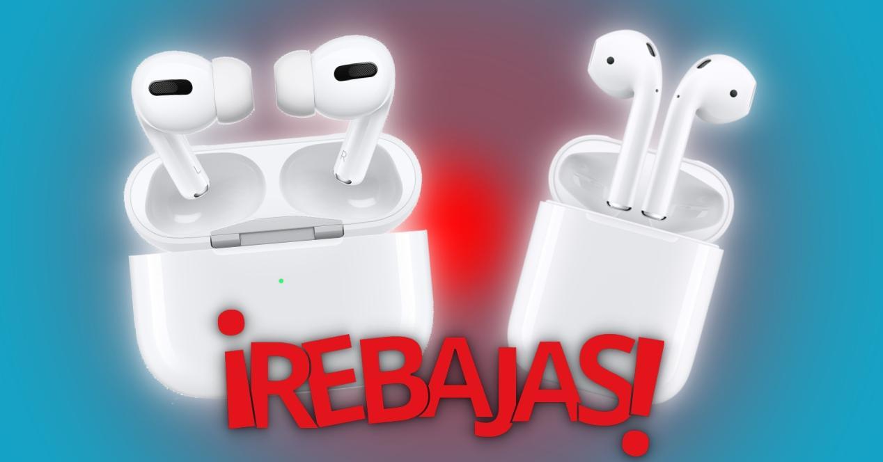 Rebajas AirPods Apple