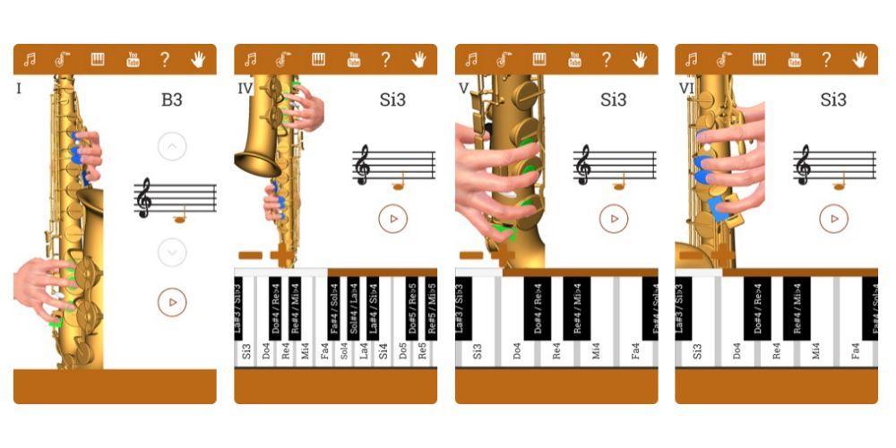 3d Saxofon