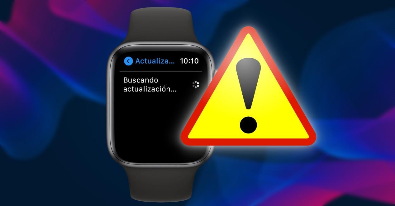 Fallo Problema Actualizar Apple Watch