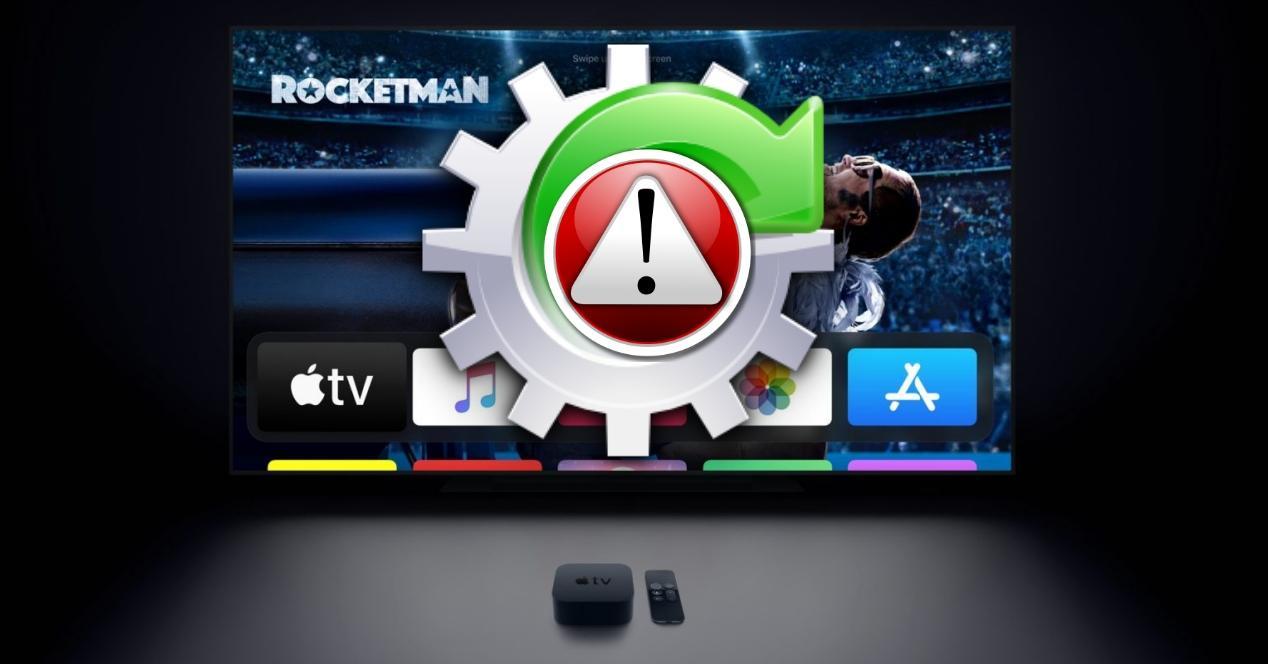 Problemas para actualizar Apple TV tvOS