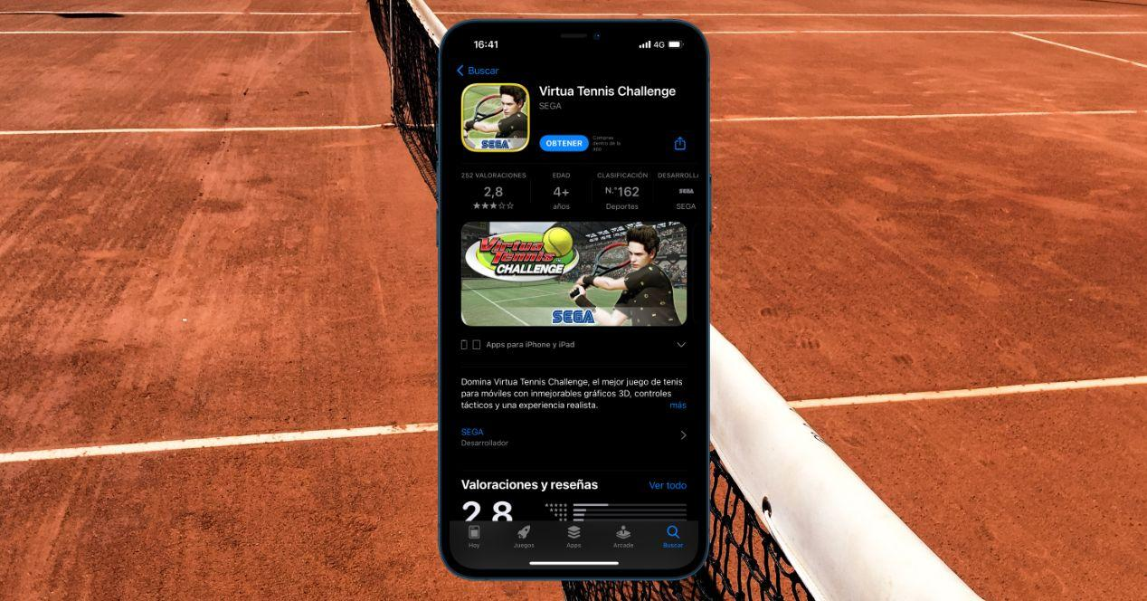 Recopilatorio de juegos de tenis para iPhone y iPad