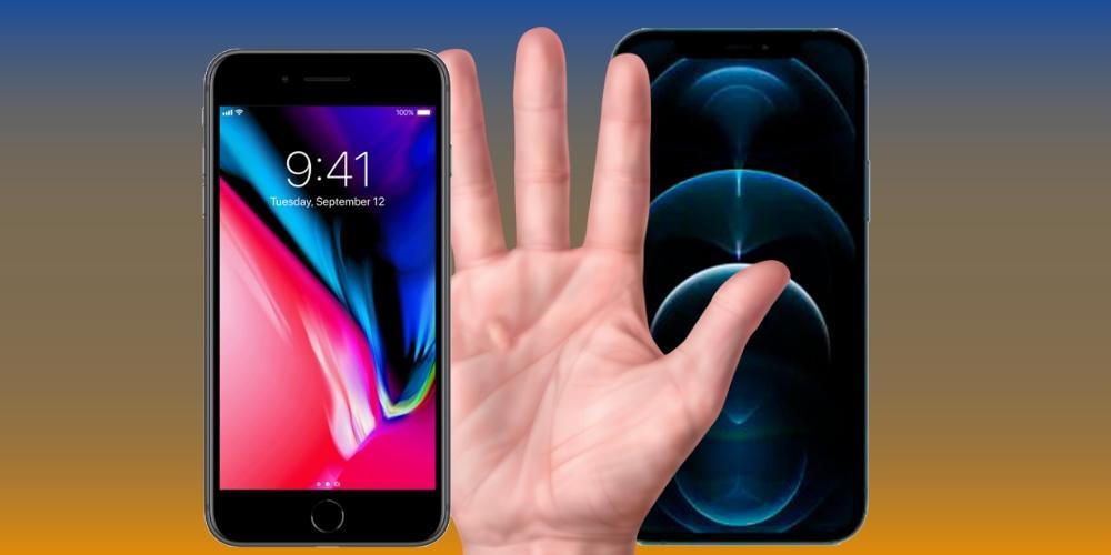 Usar iPhone con una sola mano