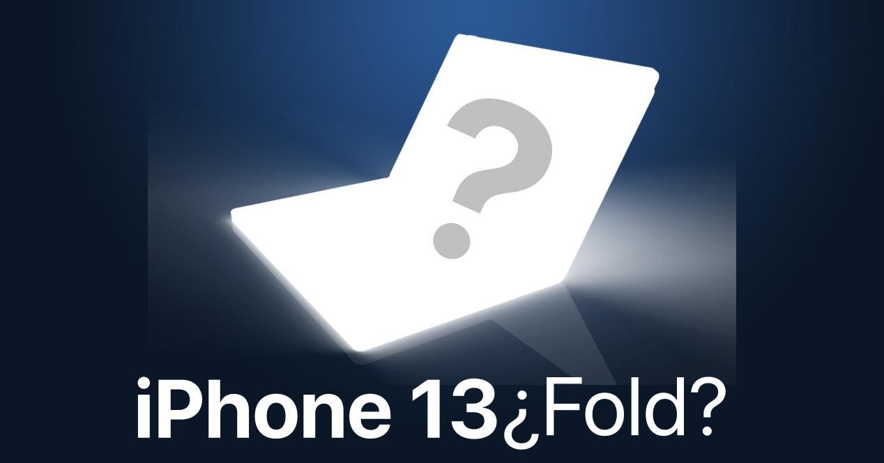 iPhone 13 Fold concepto