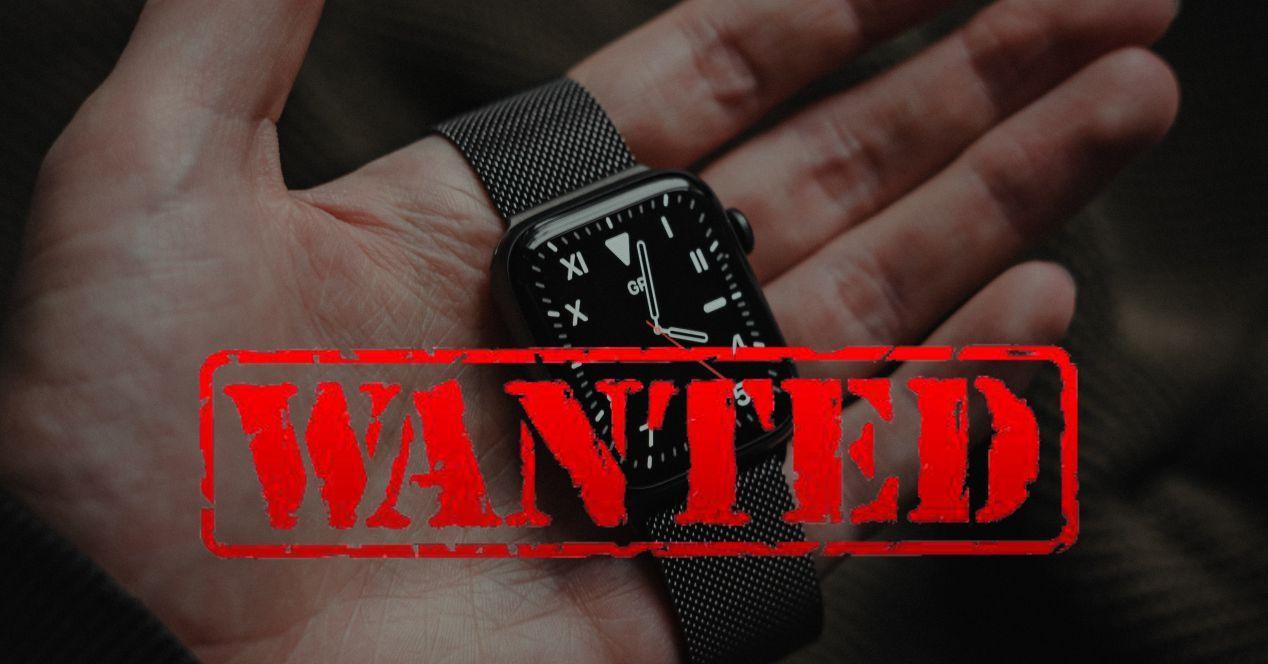 Apple Watch perdido