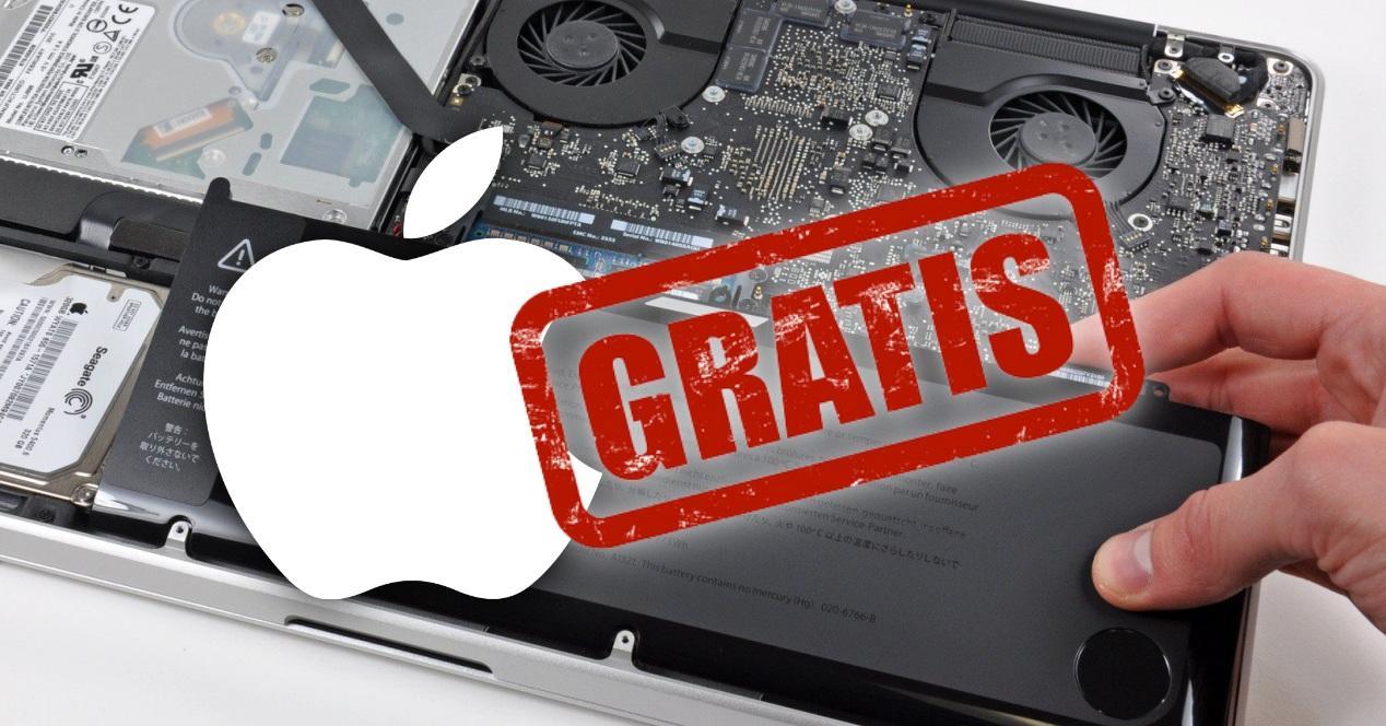 Bateria gratis MacBook Pro 2016 2017