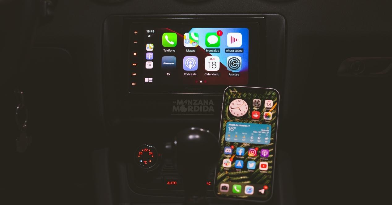 Cambiar aspecto CarPlay Apple iPhone