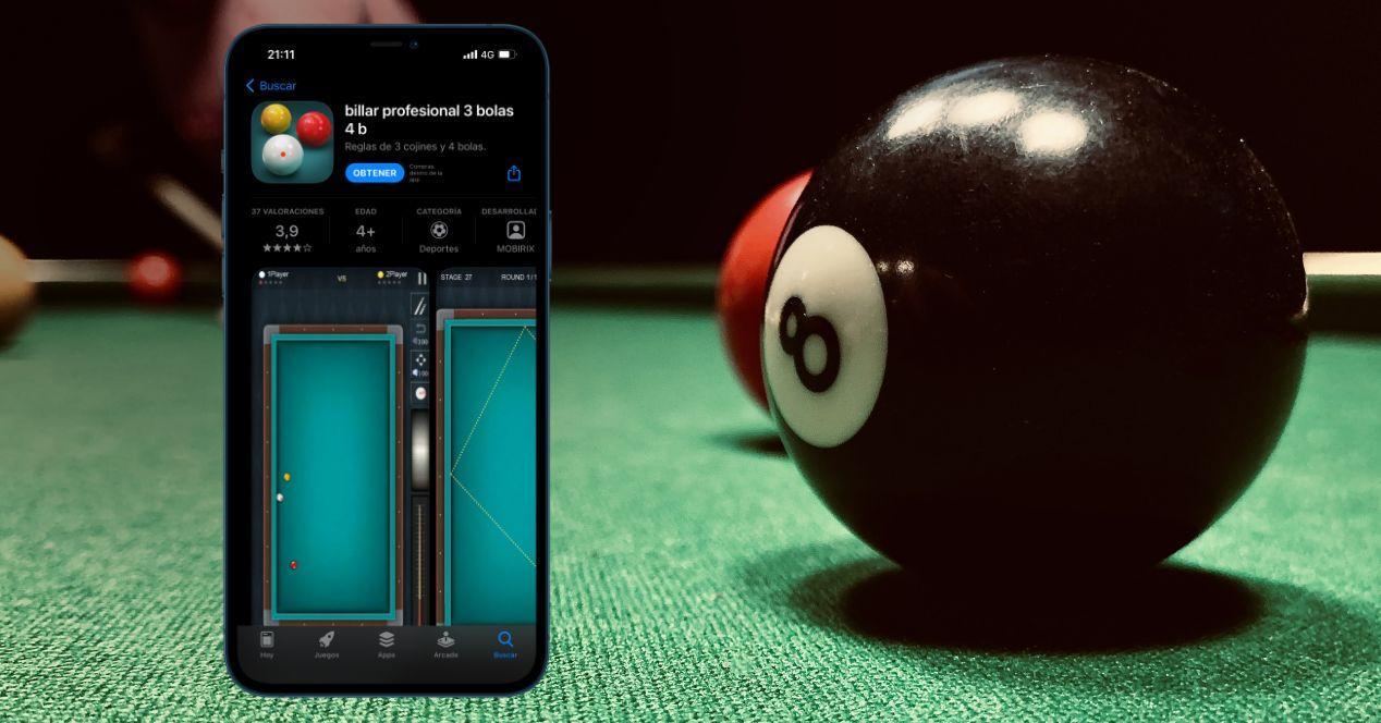 Juegos de billar para iPhone y iPad