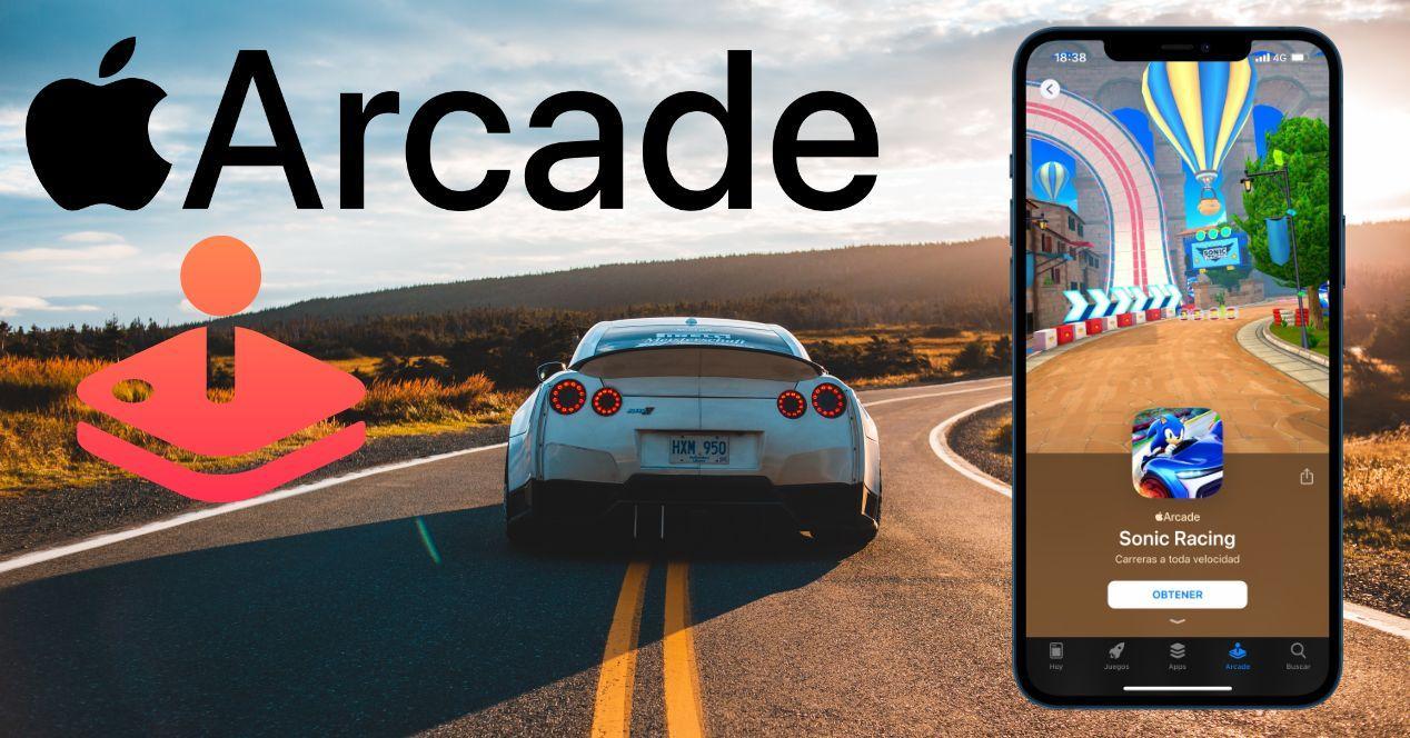 Juegos de carreras de Apple Arcade