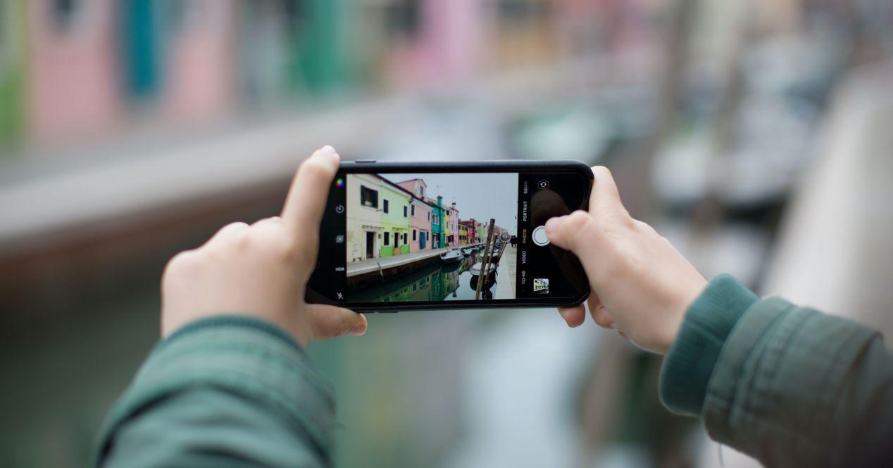 Usar el iPhone horizontalmente