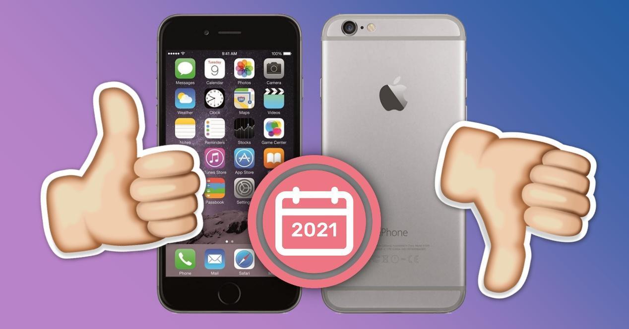 Usar iPhone 6 en 2021 experiencia