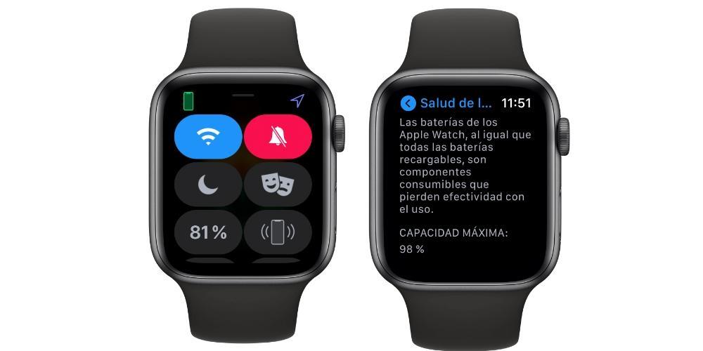 Батерия Apple Watch Y Salud
