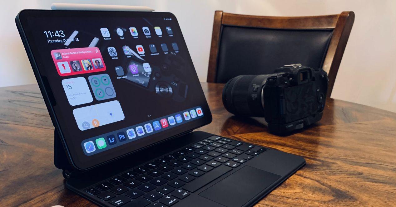 conectar camara y iPad