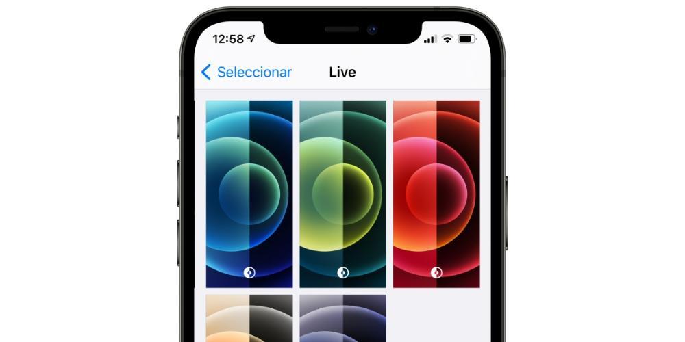 fondos live iphone