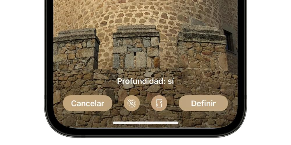 profundidad fondo pantalla iphone
