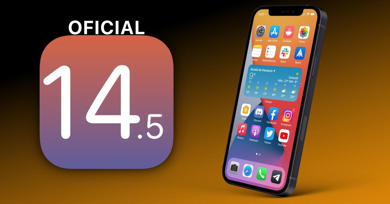 Instalar iOS 14.5 iPhone