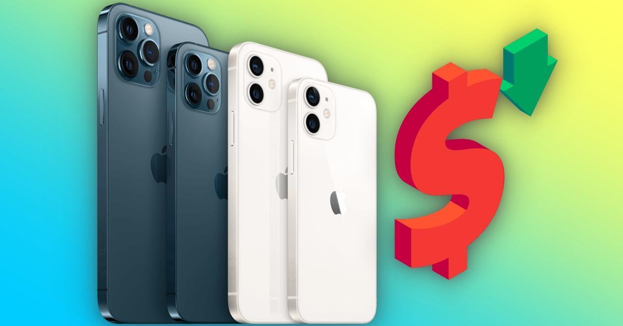 iPhone 12 bajan de precio
