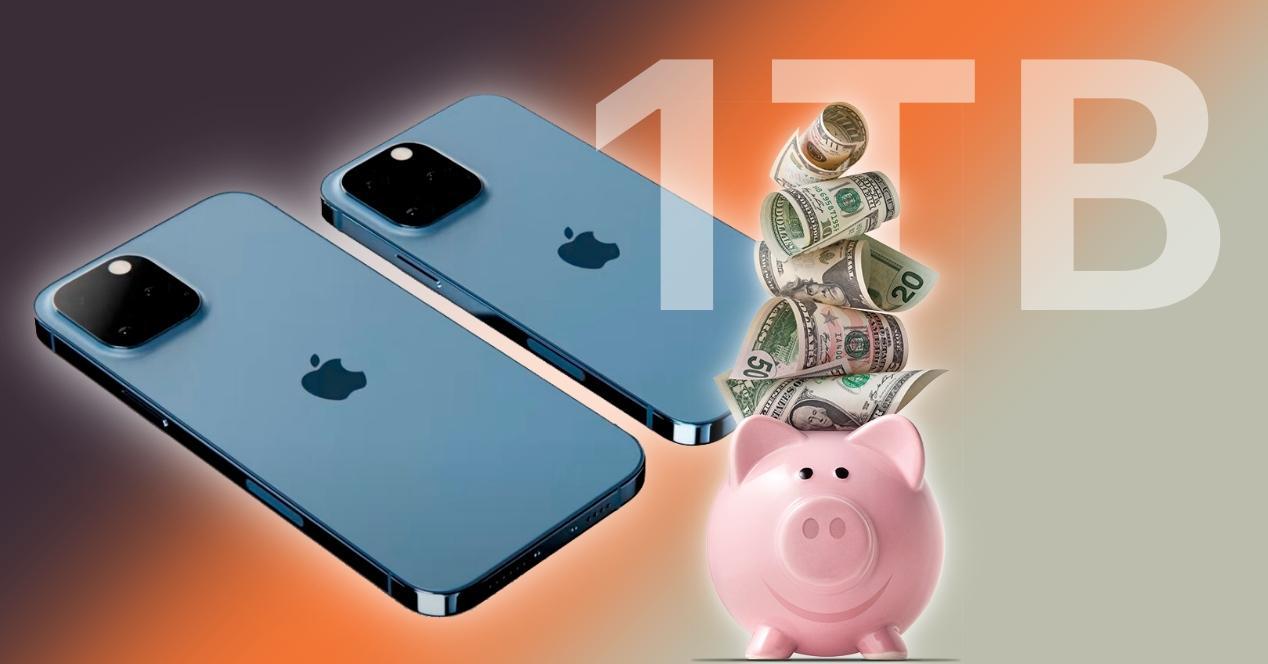 precios iphone 13 pro con 1 TB