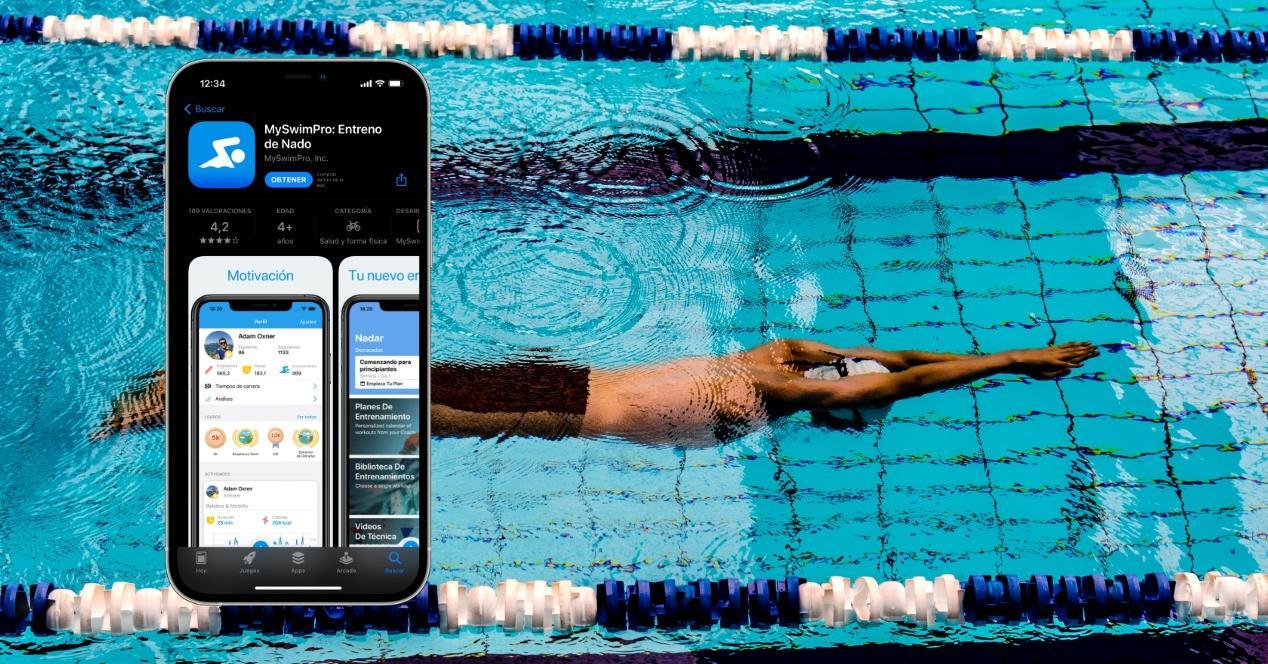 Apps de natación