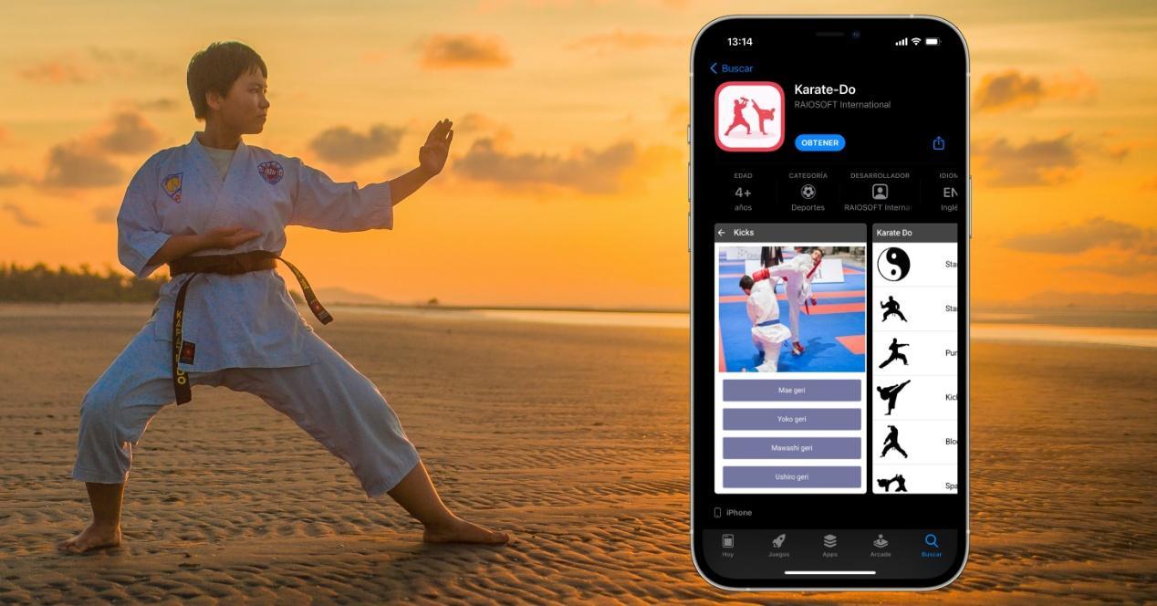 apps para aprender karate