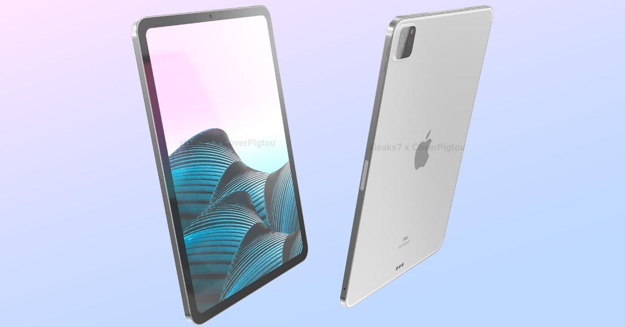 iPad Pro 2021 render