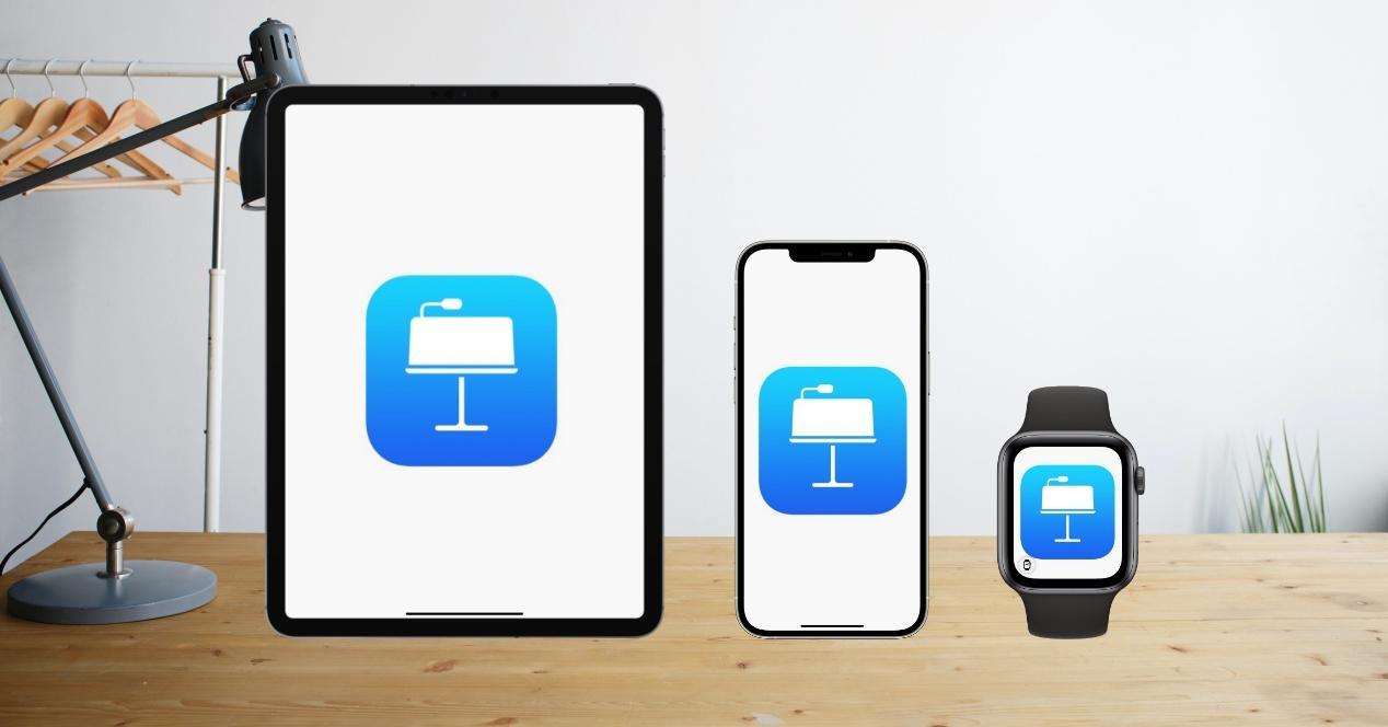 Controla Keynote desde el Apple Watch