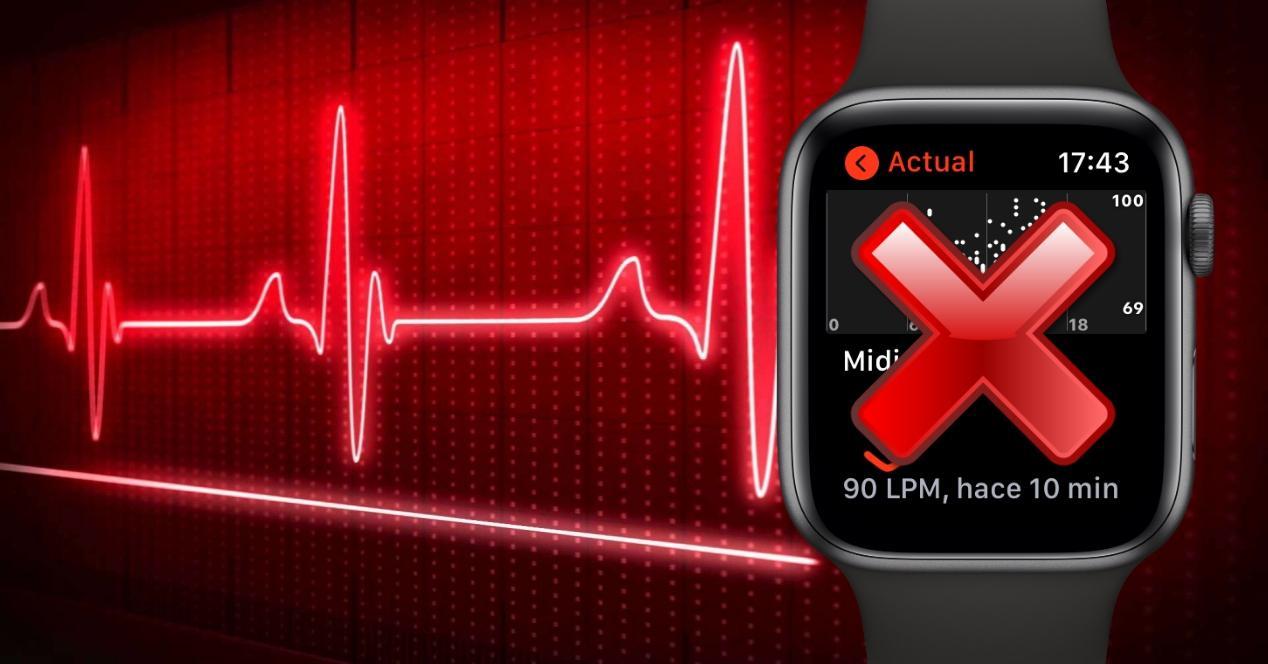 apple watch no mide pulsaciones