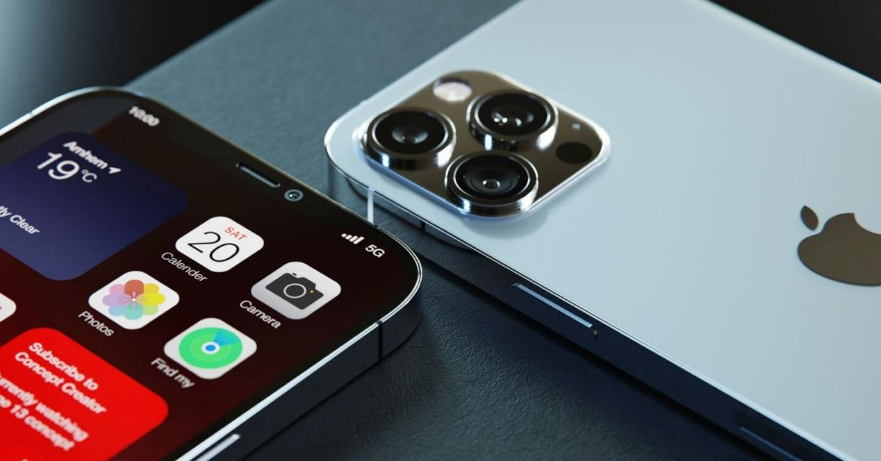 concepto iphone 13