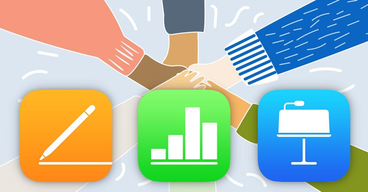 documentos compartidos iwork pages numbers keynote