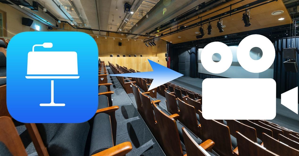 Exportar Keynote como video