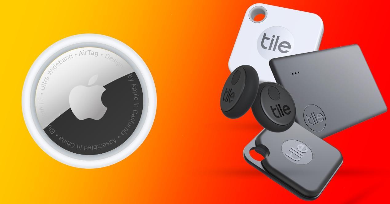 apple airtag vs tile comparativa