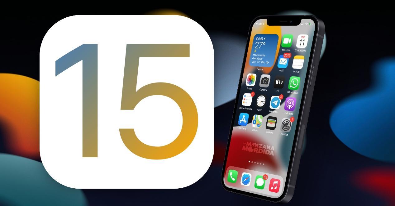 caracteristicas y novedades de ios 15 en iphone