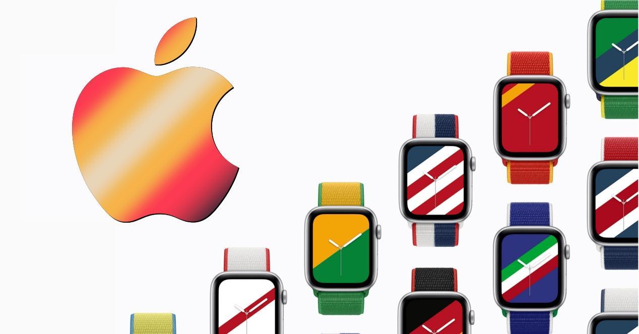 correas banderas apple watch