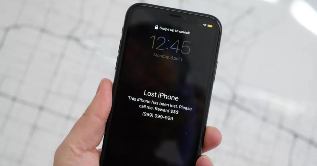 que hacer si me encuentro un iphone perdido