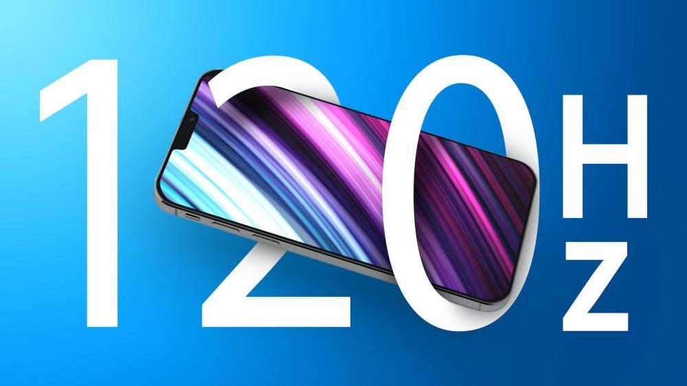 120 hz iphone 13