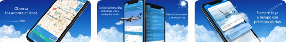 Avion în timp real