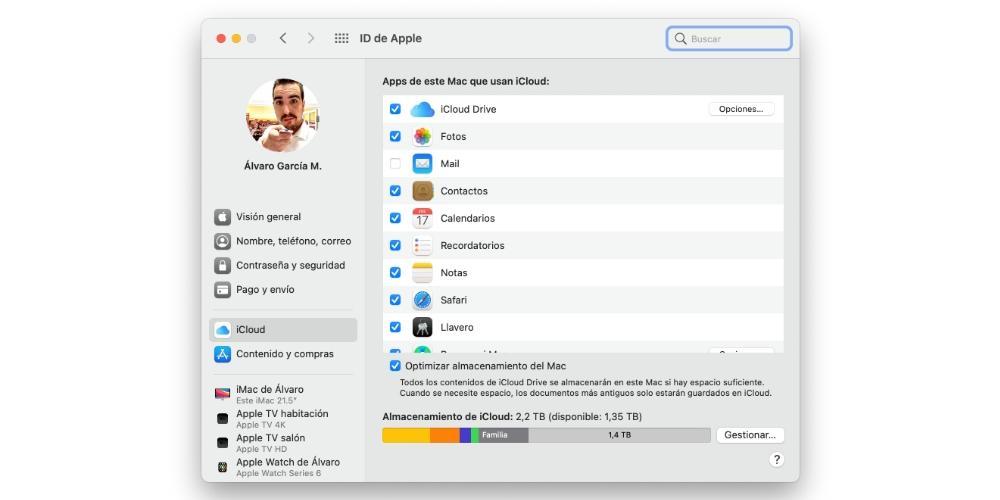 icloud mac data