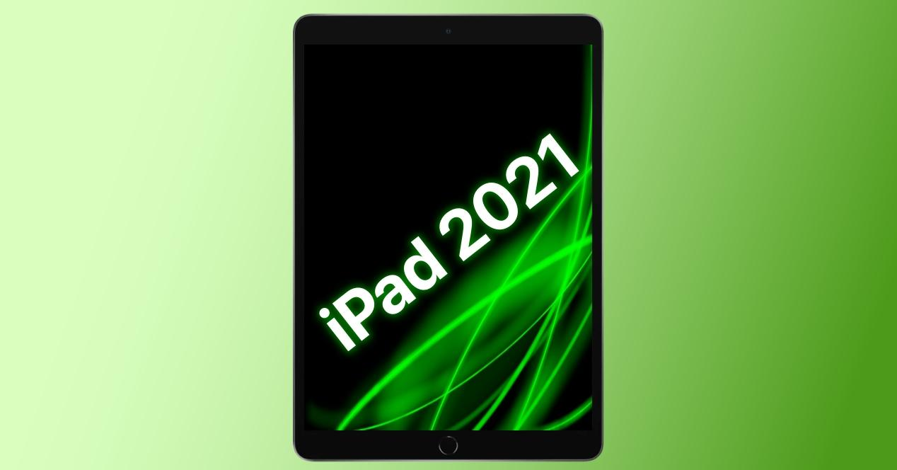 ipad 2021 concepto