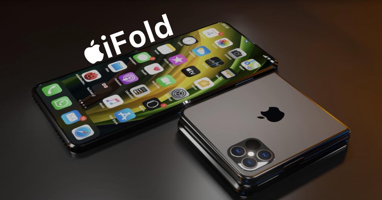 render ifold iphone plegable