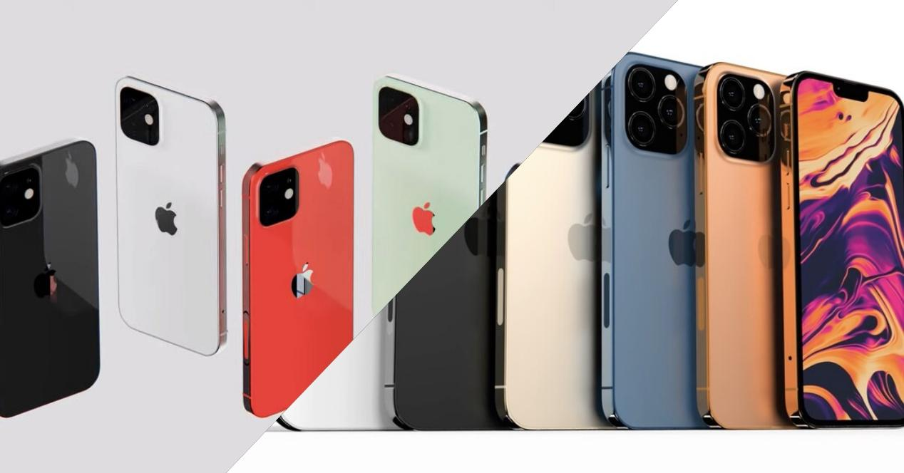 rumores iphone 13 y 13 pro
