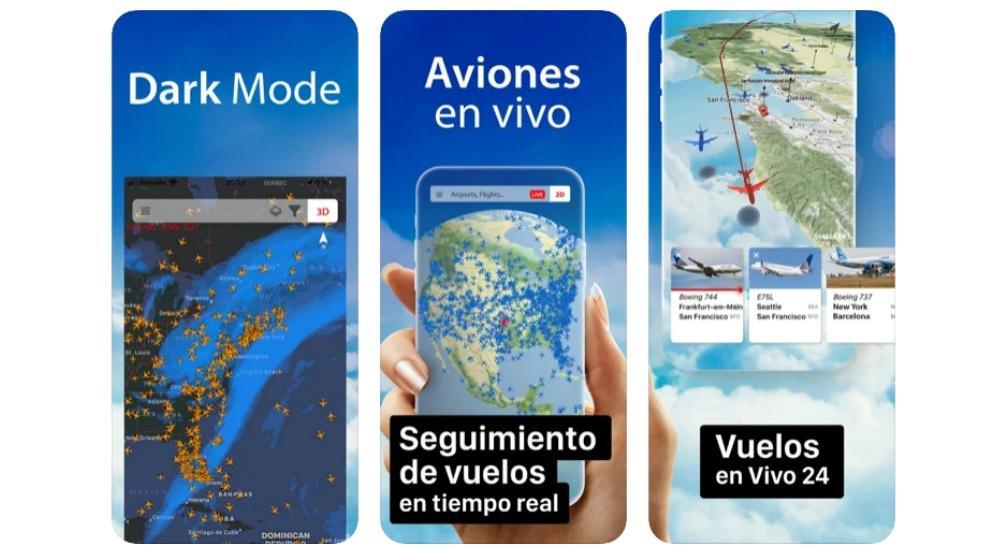 vizualizator de aeronave