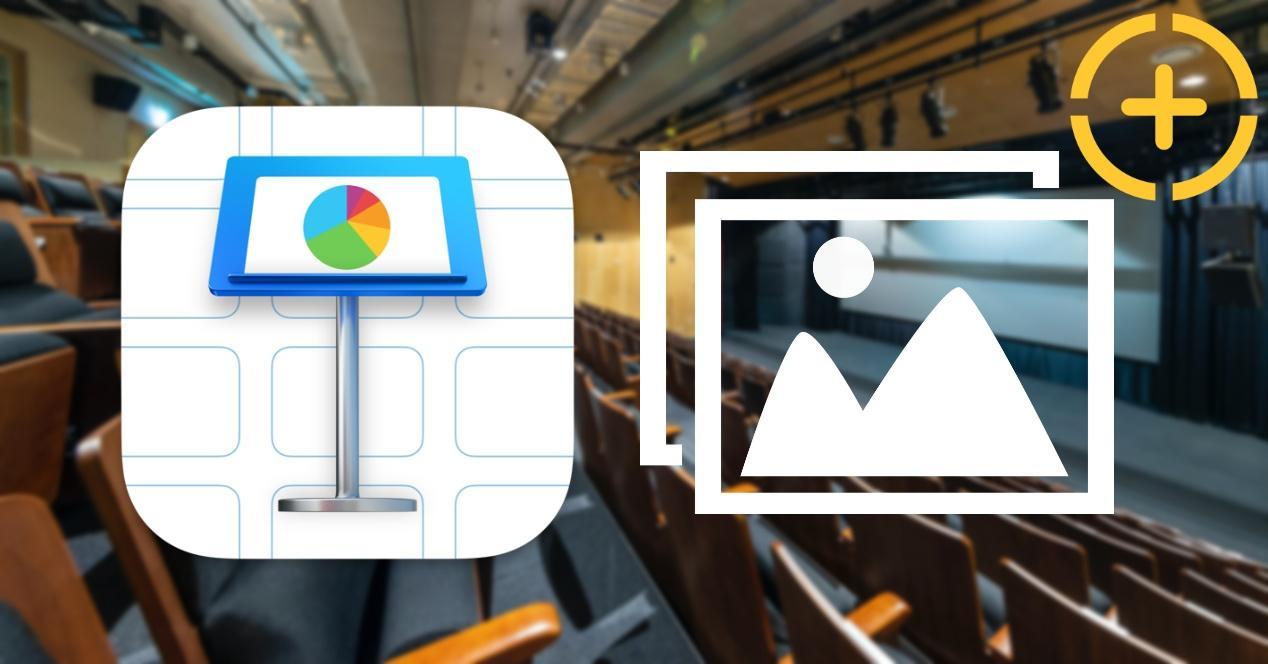 Añadir imagen y video a Keynote