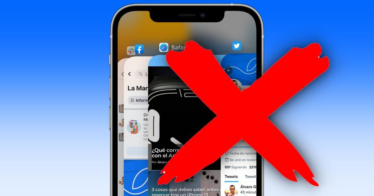 no cerrar apps iphone