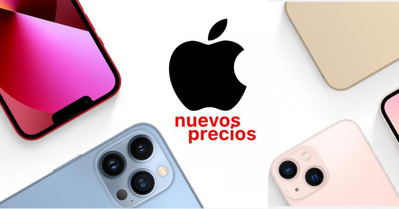 nuevos precios iphone 13