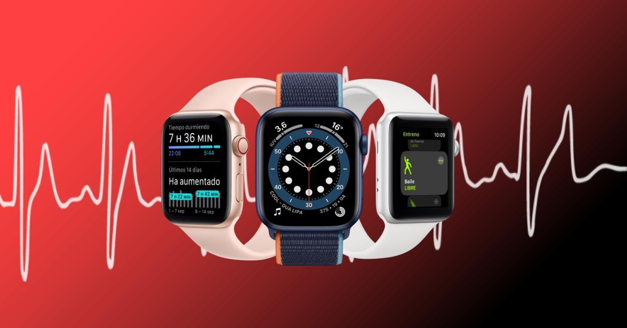 nuevos sensores salud apple watch