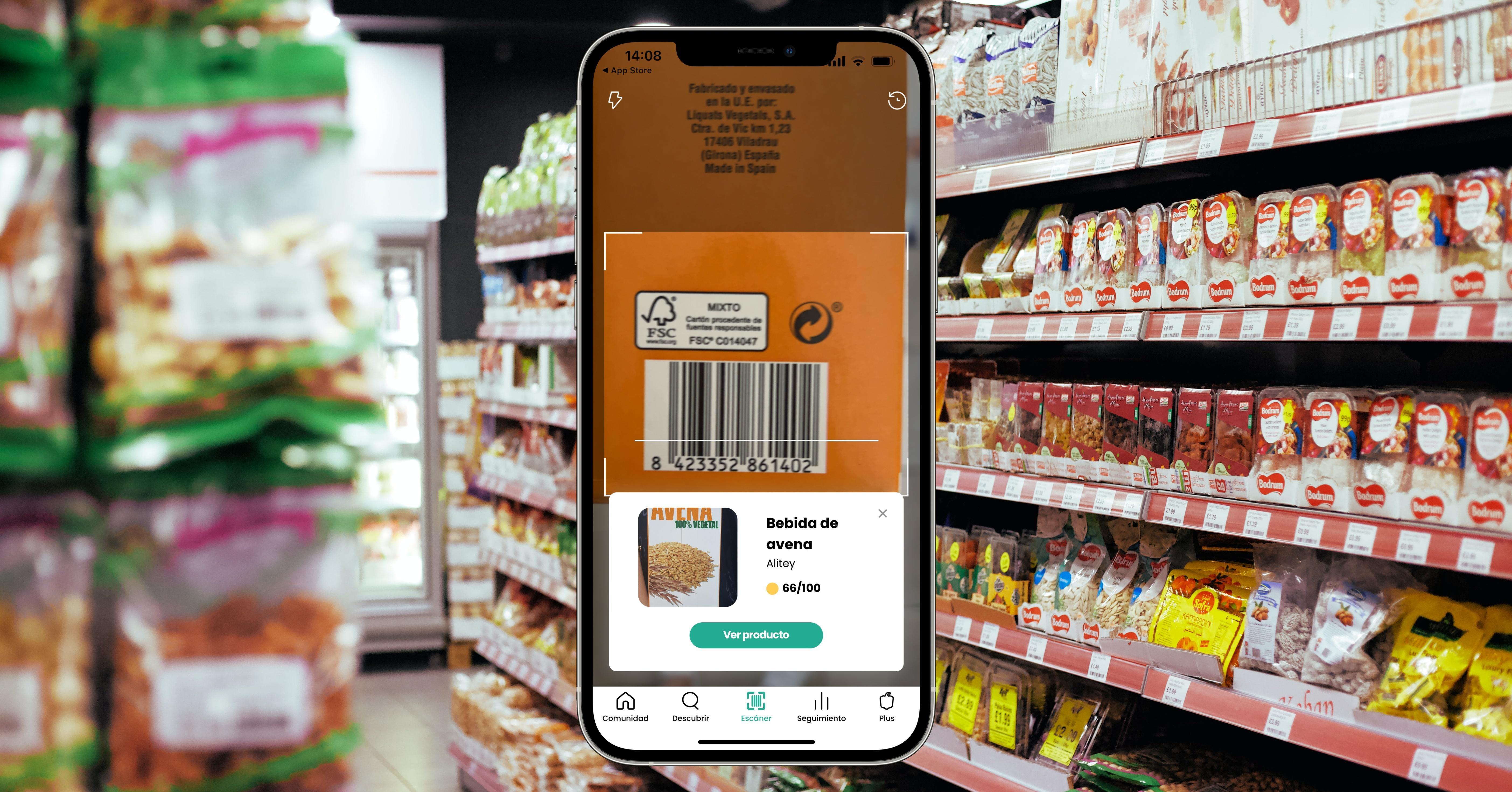 apps para escanear alimentos