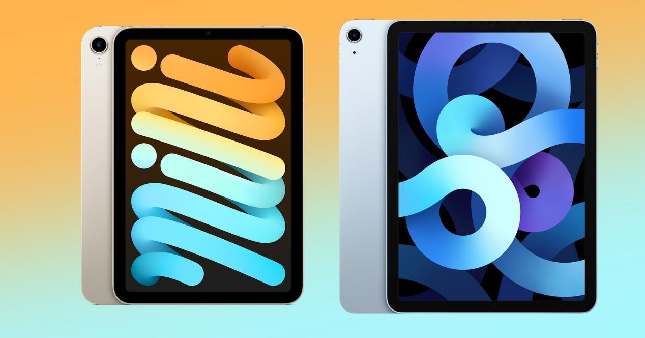 ipad mini vs ipad air comparativa