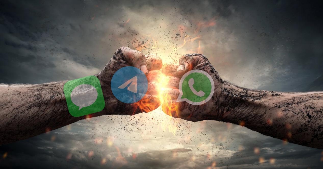 telegram whatsapp imesssage
